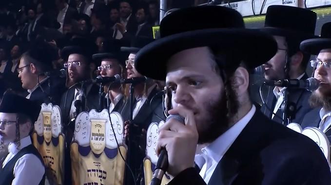 אהרלה סאמעט, זאנוויל וינברגר ומקהלת מלכות - שמחת התורה